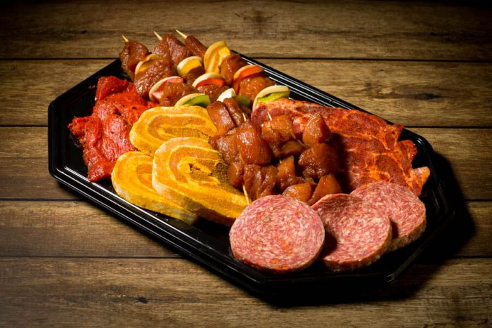 barbecue pakket onmundig